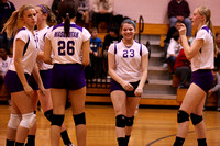 Mascoutah Middle School vs Carlyle - Volleyball