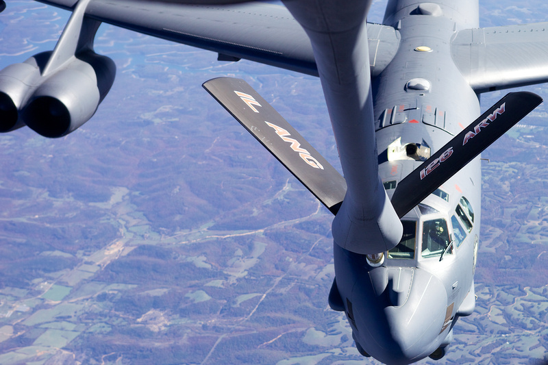 Illinois Air National Guard refueling mission