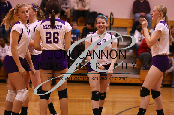 Mascoutah Middle School vs Carlyle Jr High Volleyball