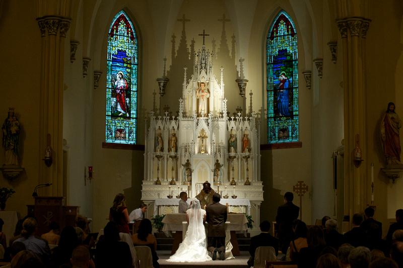 Scolarici Wedding - Holy Childhood Catholic Church, Mascoutah, Illinois